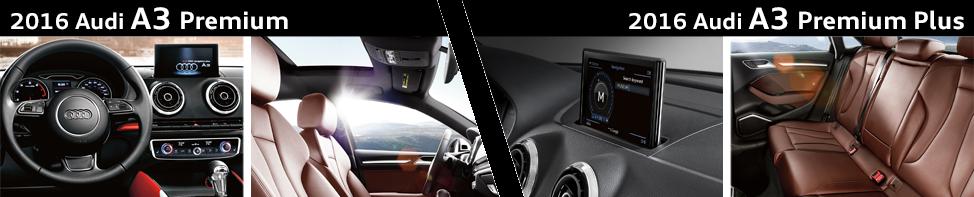 Compare 2016 Audi A3 Premium vs Audi A3 Premium Plus Model Feature