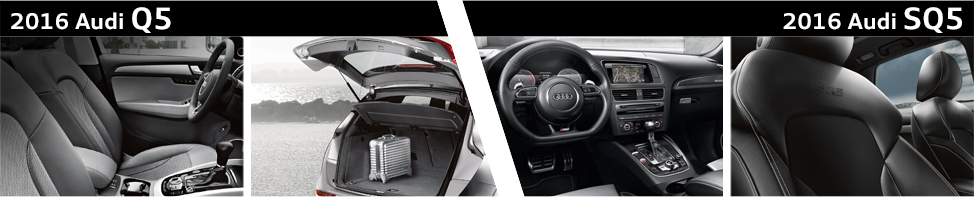 Audi Q5 Msrp >> 2016 Audi Q5 VS 2016 Audi SQ5 Model Comparison ...