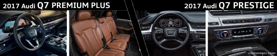 Audi Premium Plus Vs Prestige >> Compare 2017 Audi Q7 Premium Plus vs 2017 Audi Q7 Prestige
