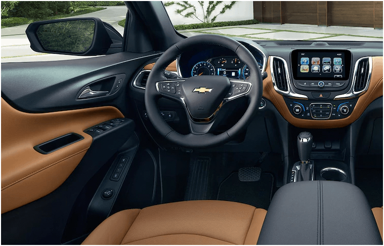 Chevrolet Equinox models interior styling