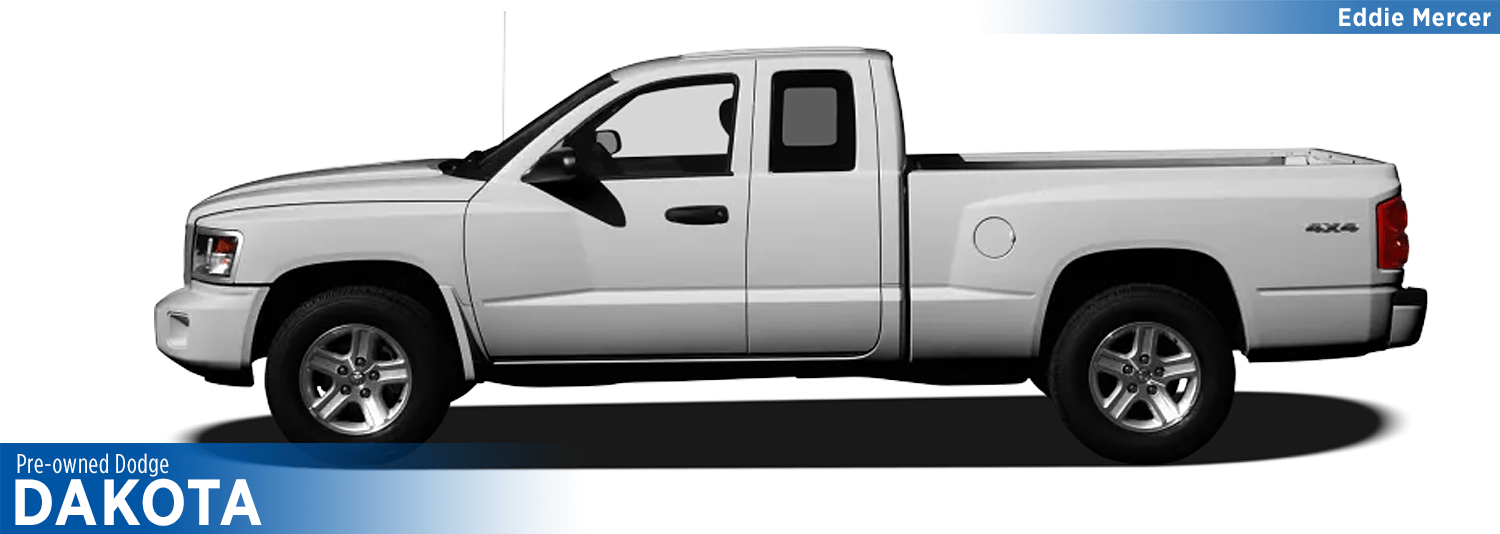 Find Quality Used Dodge Dakota models at Eddie Mercer Automotive