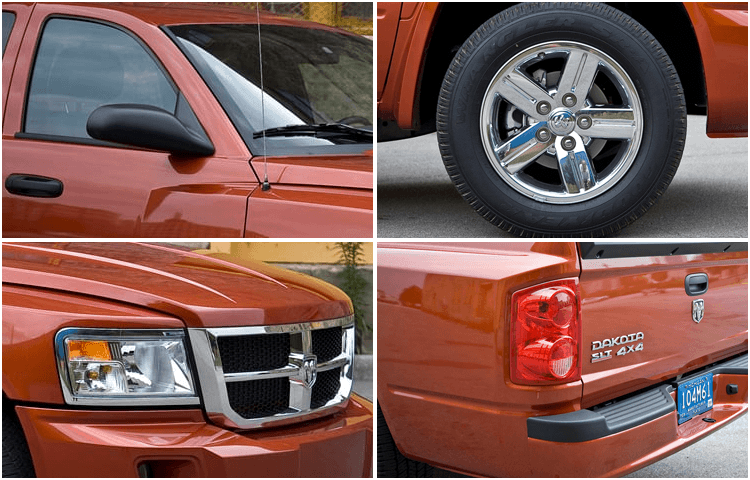 View our Dodge Dakota models interior styling at Eddie Mercer Automotive in Pensacola, FL