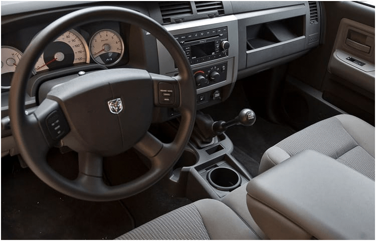 Dodge Dakota models interior styling