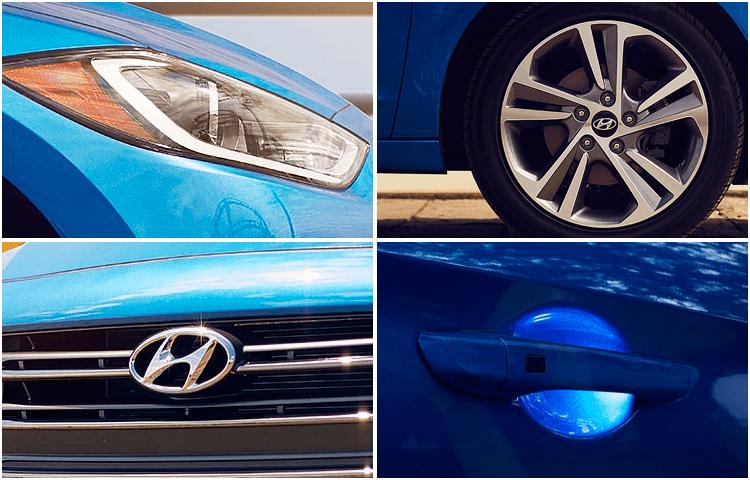 View our Hyundai Elantra models interior styling at Eddie Mercer Automotive in Pensacola, FL
