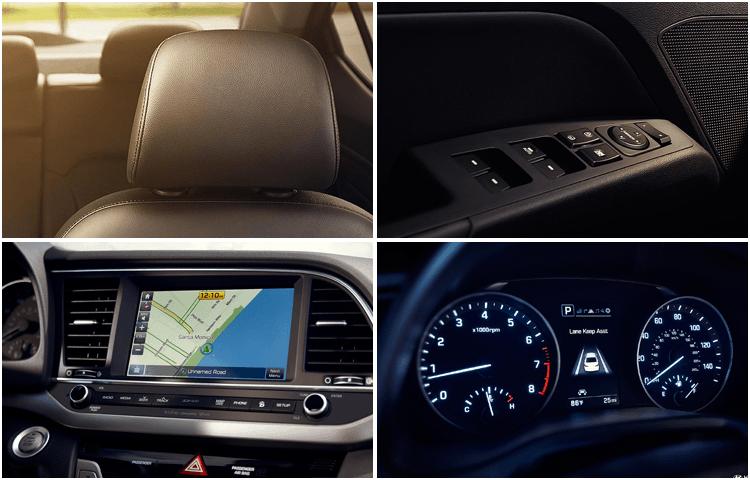 Hyundai Elantra models exterior styling