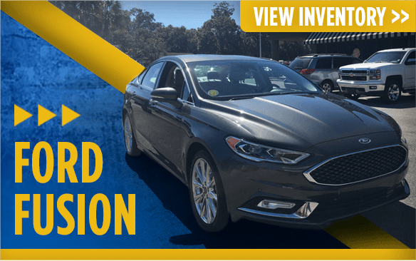 Click to view our Ford Fusion models at Eddie Mercer Automotive in Pensacola, FL