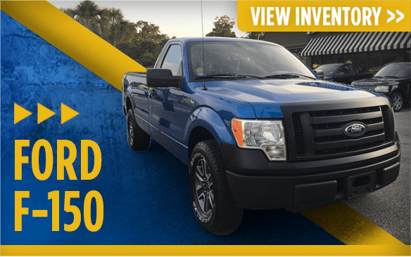 Click to view our Ford F-150 models at Eddie Mercer Automotive in Pensacola, FL