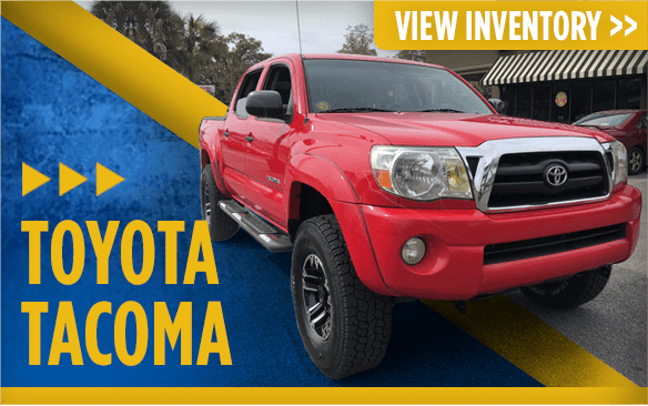 Click to view our Toyota Tacoma models at Eddie Mercer Automotive in Pensacola, FL