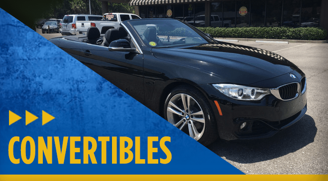 View our entire Eddie Mercer Automotive Center convertible vehicle inventory in Pensacola, FL