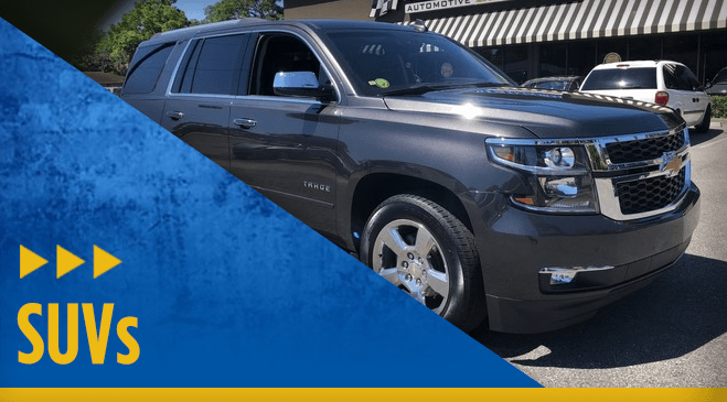 View our entire Eddie Mercer Automotive Center SUV vehicle inventory in Pensacola, FL