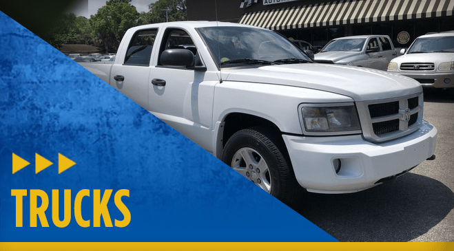 View our entire Eddie Mercer Automotive Center Pre-Owned Trucks vehicle inventory in Pensacola, FL