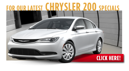 View our current Chrysler 200 Special Offers near Wichita, Kansas