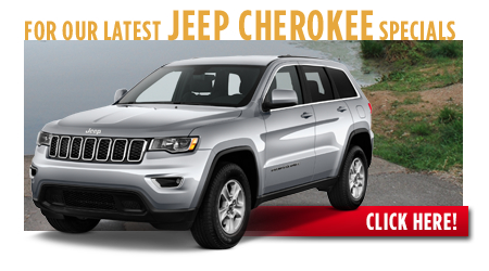 New Jeep Cherokee Special Discounts for Purchase & Lease Offers serving Wichita, Dodge City & Emporia, KS
