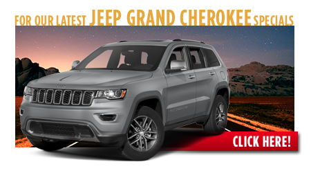 New Jeep Grand Cherokee Special Discounts for Purchase & Lease Offers serving Wichita, Dodge City & Emporia, KS