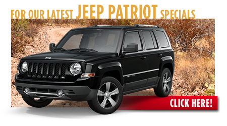 View our current Jeep Patriot Special Offers near Wichita, Kansas