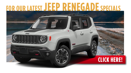 New Jeep Jeep Renegade Special Discounts for Purchase & Lease Offers serving Wichita, Dodge City & Emporia, KS