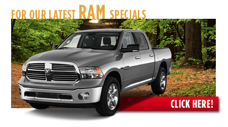 New Ram 1500 Special Discounts for Purchase & Lease Offers serving Wichita, Dodge City & Emporia, KS
