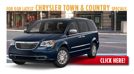 New Chrysler Town & Country Special Discounts for Purchase & Lease Offers serving Wichita, Dodge City & Emporia, KS