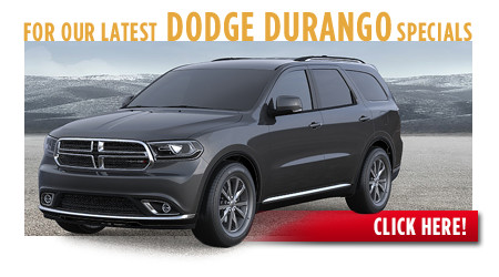 New Dodge Durango Special Discounts for Purchase & Lease Offers serving Wichita, Dodge City & Emporia, KS