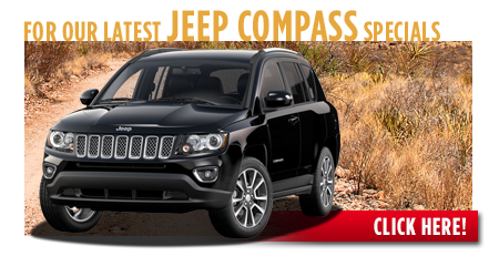 New Jeep Compass Special Discounts for Purchase & Lease Offers serving Wichita, Dodge City & Emporia, KS