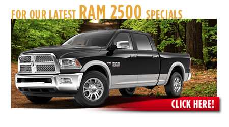 View our current RAM 2500 Truck Special Offers near Wichita, Kansas