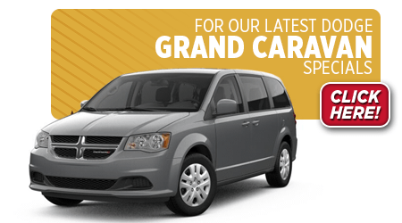 View this month's special savings offer on a Dodge Grand Caravan at Eddy's Chrysler Dodge Jeep Ram in Wichita, KS