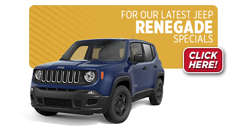 View this month's special savings offer on a new Jeep Renegade at Eddy's Chrysler Dodge Jeep Ram in Wichita, KS
