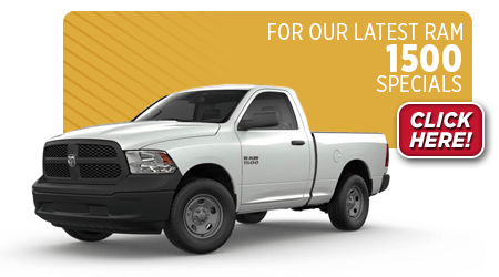 View this month's special savings offer on a Ram 1500 at Eddy's Chrysler Dodge Jeep Ram in Wichita, KS