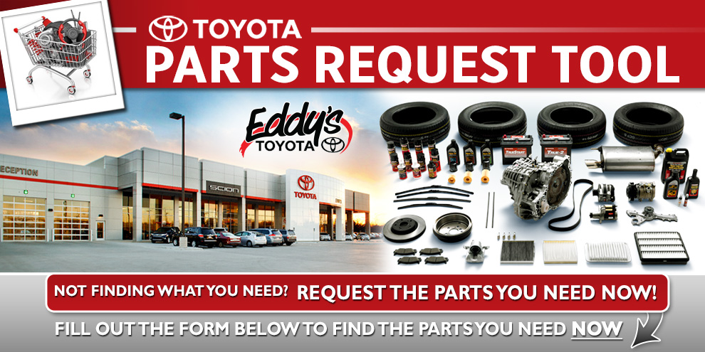 Request a Genuine OEM Toyota Part in Wichita, KS