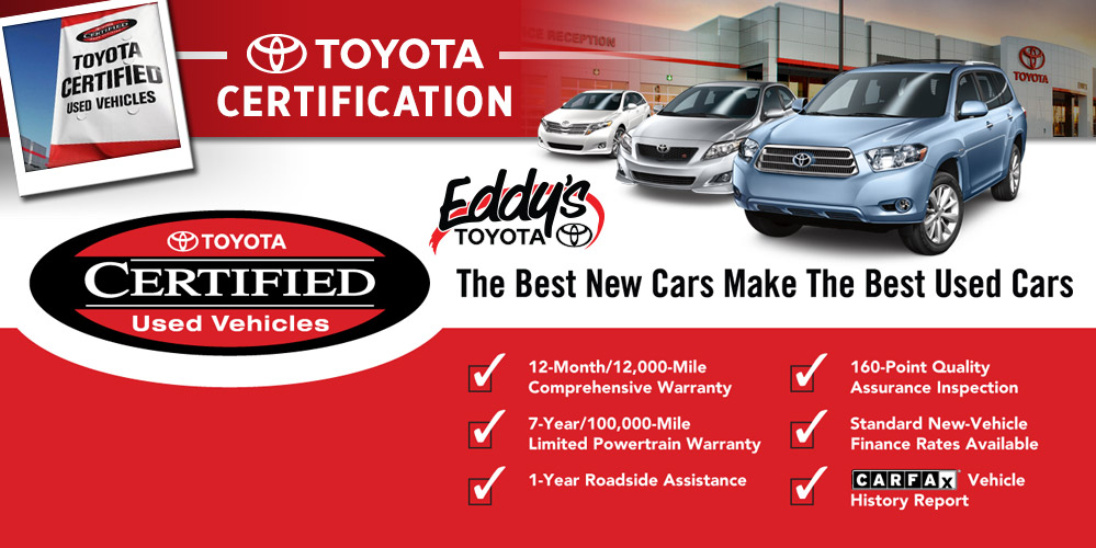 Toyota Certification Process Wichita Certified Pre Owned Vehicles