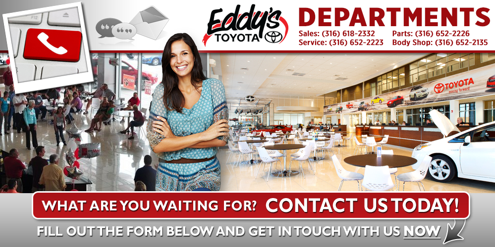 Contact us at Eddy's Toyota in Wichita, Kansas