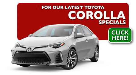 New Toyota Corolla Special Discounts for Purchase & Lease Offers serving Wichita, Dodge City & Emporia, KS