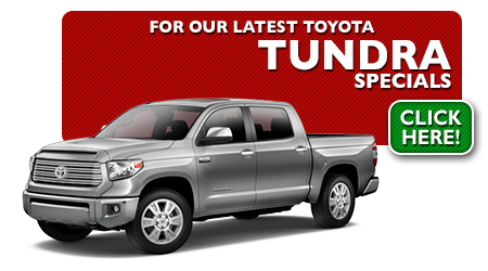 New Toyota Tundra Special Discounts for Purchase & Lease Offers serving Wichita, Dodge City & Emporia, KS