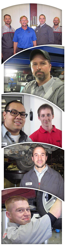 Our Friendly Toyota Service Department Technicians!