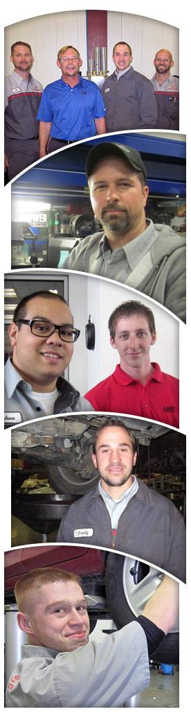 Our Friendly Toyota Service Department Technicians!