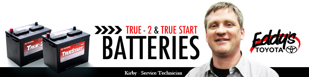 Purchase New Genuine Toyota Batteries in Wichita, Kansas