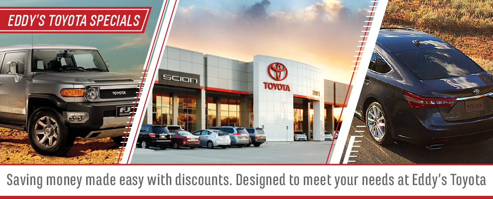 Wichita Toyota Special Offers & Vehicle Deals at Eddy's Toyota