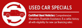 Pre-Owned Vehicle Special Offers serving Wichita, Kansas