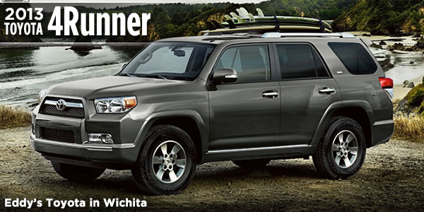 new 2013 toyota 4runner suv features information specifications wichita ks. Black Bedroom Furniture Sets. Home Design Ideas