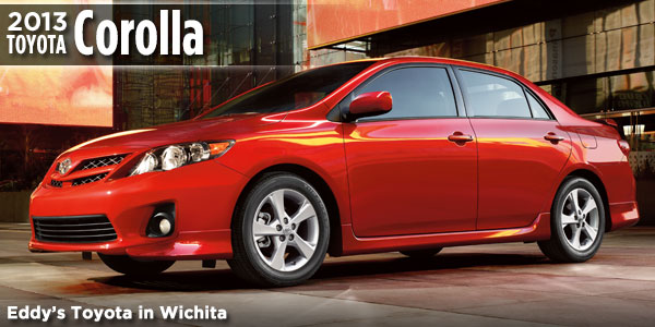 New 2013 Corolla Available At Eddyu0027s Toyota In Wichita, ...