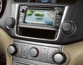 new 2013 toyota highlander model features wichita new vehicle rh eddystoyota com Toyota Tacoma Aftermarket Back Up Camera Toyota Reverse Camera