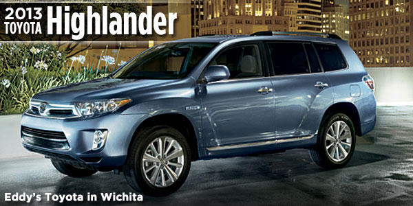 New 2013 Toyota Highlander Model Features Wichita New