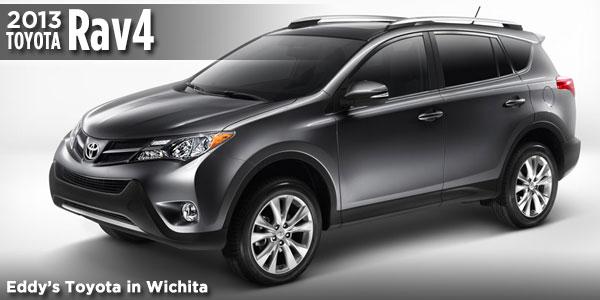 Great New 2013 RAV4 Available At Eddyu0027s Toyota In Wichita, ...