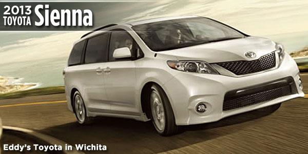 New 2013 Sienna Available At Eddyu0027s Toyota In Wichita, ...