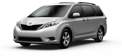 New 2013 Toyota Sienna LE Model