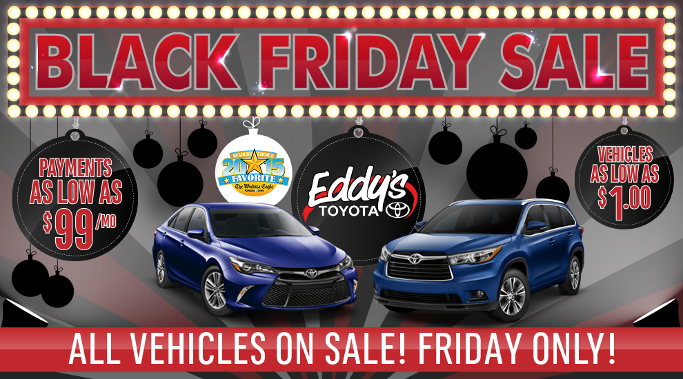 Toyota Black Friday Special 2015 Savings Sales Event | Wichita Car Sales
