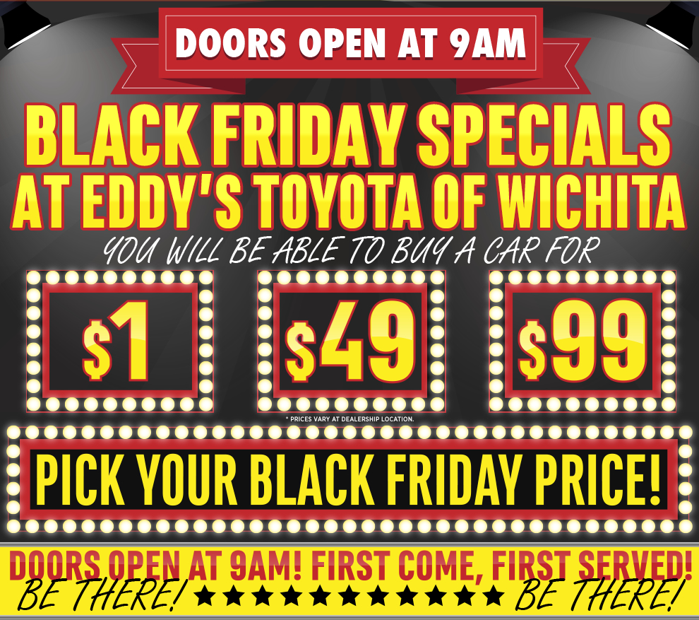 Toyota Black Friday Special 2015 Savings Sales Event
