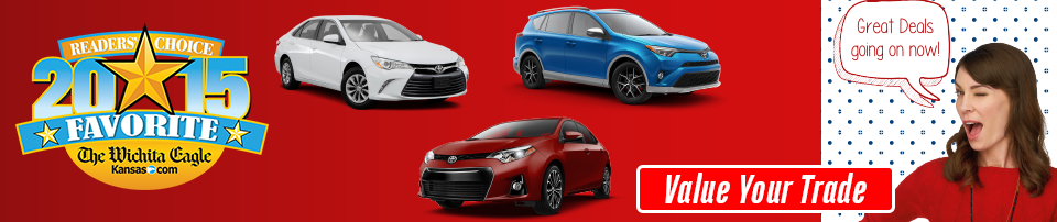 Click to Value Your Trade at Eddy's Toyota of Wichita