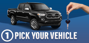 Pick Your Vehicle Express Purchase Buyer's Option Step 1 Serving Wichita, KS