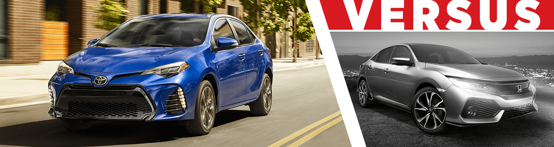 2018 Toyota Corolla VS Honda Civic Comparison In Wichita KS
